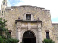 Back of the Alamo