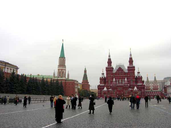 Russia - Red Square in Moscow