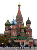 Russia - St. Basil's Church in Moscow