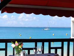 St. Martin - Grand Case Restaurant View