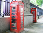 Telephone Booths - London, England