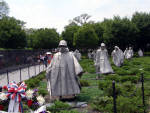 Washington DC - Korean Memorial