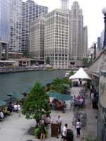 Chicago Riverside Dining